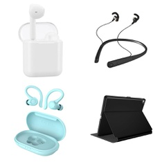 Pallet – 453 Pcs – In Ear Headphones, Lamps, Parts & Accessories, Apple iPad – Customer Returns – Onn, Speck, onn., SANUS