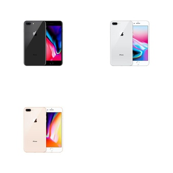 6 Pcs – Apple iPhone 8 Plus – Brand New (Unlocked) – Models: MQ8D2LL/A, MQ8F2LL/A, MQ8E2LL/A