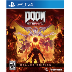 Bethesda Softworks Doom Eternal Deluxe Edition (PS4) - Refurbished