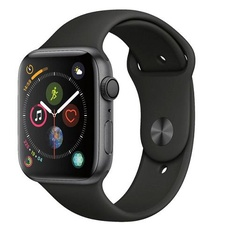50 Pcs - Apple Watch Gen 4 Series 4 44mm Space Gray Aluminum - Black Sport Band MU6D2LL/A - Refurbished (GRADE A)