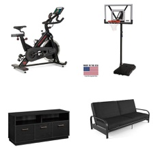 Pallet – 9 Pcs – Exercise & Fitness, TV Stands, Wall Mounts & Entertainment Centers – Customer Returns – Mainstay's, ProForm