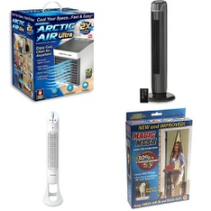 3 Pallets - 281 Pcs - Humidifiers / De-Humidifiers, Fans, Hardware, Home Security & Safety - Customer Returns - As Seen On TV, Helen of Troy Health & Home, Mainstay's, Brink's