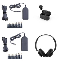 Pallet - 388 Pcs - Other, Power Adapters & Chargers, Over Ear Headphones, Keyboards & Mice - Customer Returns - Onn, onn., Anker, Electronic Arts