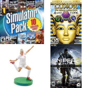 Pallet – 214 Pcs – Computer Software & Video Games – Customer Returns – Legacy Games, UIE, Electronic Arts, CultureFly