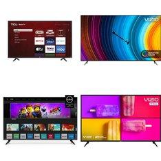 18 Pcs - LED/LCD TVs - Refurbished (GRADE A, GRADE B) - VIZIO, TCL