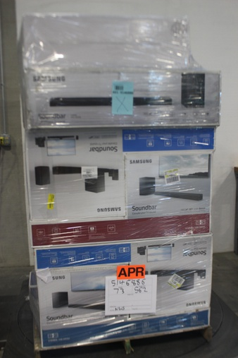 Pallet – 31 Pcs – Speakers – Customer Returns – Samsung