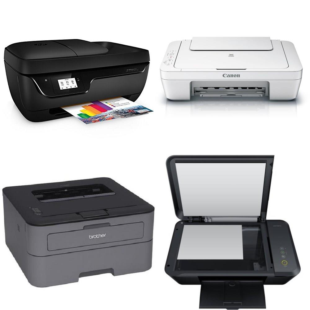 CLEARANCE! 101 Pcs - All-In-One, Inkjet, Laser - Customer Returns - HP,  Brother, Canon