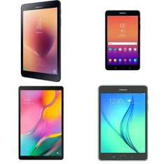 43 Pcs - Samsung Galaxy Tablets - Tested NOT WORKING - Models: SM-T380NZKIXAR, SM-T510NZKAXAR, SM-T380NZKAXAR, SM-T350
