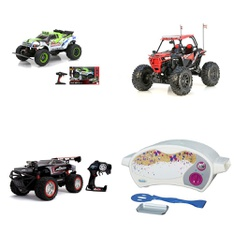 Pallet – 38 Pcs – Vehicles, Trains & RC, Action Figures, Unsorted – Customer Returns – New Bright, The Fast and the Furious, Easy Bake, Toy Story-Disney