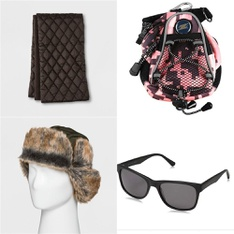 44 Pcs - Backpacks, Bags, Wallets & Accessories - New, Like New, Open Box Like New - Retail Ready - Goodfellow & Co, LinksWalker, Obsidian, A New Day
