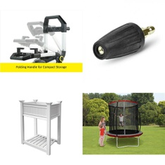 Pallet – 12 Pcs – Grills & Outdoor Cooking, Accessories, Pressure Washers – Customer Returns – Karcher, Trainor Sports, The Coleman Company, PolyGroup