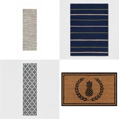 50 Pcs - Rugs & Mats - New - Retail Ready - threshold, Fieldcrest, Project 62, Room Essentials