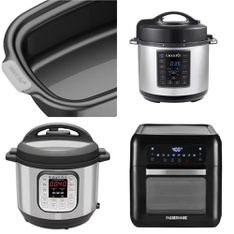 Pallet - 7 Pcs - Slow Cookers, Roasters, Rice Cookers & Steamers, Kitchen & Dining, Deep Fryers - Refurbished (GRADE A)