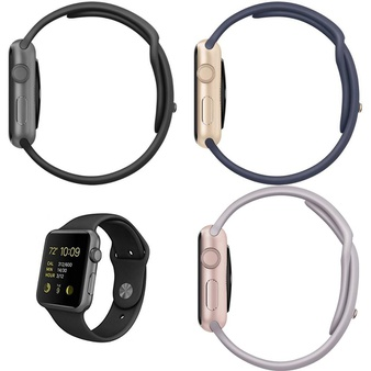 11 Pcs – Apple Watch – Series 1 – Refurbished (GRADE D) – Models: MJ3T2LL/A, MJ2X2LL/A, MLCH2LL/A, MLC72LL/A