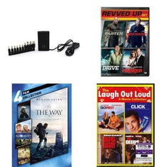 Pallet – 1722 Pcs – DVD Discs, Music CDs/Vinyl/Tapes, Computer Software, Blu-ray Discs – Customer Returns – Sony Pictures Home Entertainment, Onn, WARNER HOME VIDEO, Lionsgate