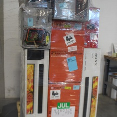 6 Pallets - 117 Pcs - Portable Speakers, Speakers, All-In-One - Customer Returns - Ion, Blackweb, ARCADE1up, Monster