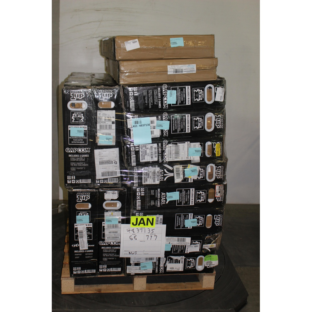 Pallet - 14 Pcs - Other - Customer Returns - Arcade 1UP