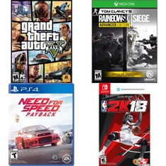 163 Pcs - Video Games & Gaming Software - Like New, Used, New, Open Box Like New, New Damaged Box - Ubisoft, Electronic Arts, Activision, Rockstar Games