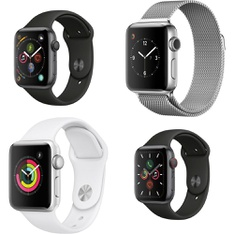 20 Pcs – Apple Watch – Refurbished (GRADE D) – Models: MU6D2LL/A, MTEY2LL/A, MQKU2LL/A, MP032LL/A