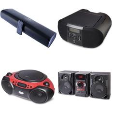 Pallet – 88 Pcs – Speakers, Accessories – Customer Returns – Onn, onn., One For All