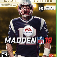 59 Pcs - Electronic Arts Madden NFL 18: G.O.A.T. Edition (Xbox One) - Like New, New, Used - Retail Ready