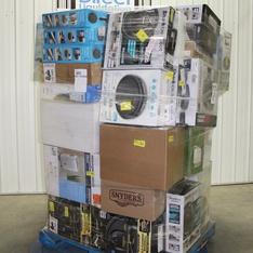 Pallet – 44 Pcs – Vacuums, Pressure Washers, Humidifiers / De-Humidifiers – Customer Returns – SharkNinja, Tzumi, Hoover, BLACK & DECKER