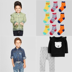Pallet – 1036 Pcs – Kids Apparel – Brand New – Retail Ready – Cat & Jack, Genuine Kids from OshKosh, Bullseye's playground, Just One You made by carter's
