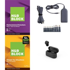 Pallet – 952 Pcs – Software, Over Ear Headphones, Other, Power Adapters & Chargers – Customer Returns – H&R Block, Onn, onn., Anker