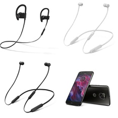CLEARANCE! 25 Pcs - In Ear Headphones, Over Ear Headphones - Refurbished (GRADE D) - Beats by Dr. Dre, HP