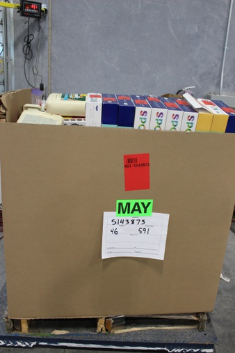 Clearance! Pallet – 278 Pcs – Hardware – Brand New – Retail Ready – Spot On, Graco, Inc, Olympic, HANDy