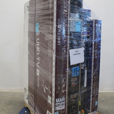Pallet – 5 Pcs – TVs – Open Box (Tested Working) – LG, Samsung, RCA