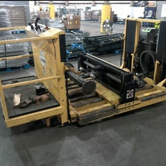 4 Pallets - 1 Pc - Forklift Battery Handling & Changing System - Used