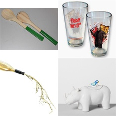 149 Pcs - Kitchen & Dining - New - Retail Ready - Norpro, Bulleseye's Playground, Corkcicle, iCup