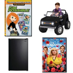 3 Pallets - 23 Pcs - DVD Discs, Unsorted, Kitchen & Dining - Customer Returns - Disney Channel, MAGIC CHEF, WarnerBrothers