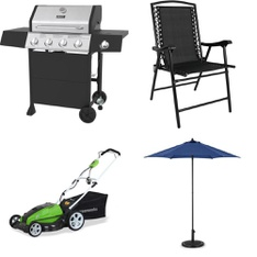 Pallet – 6 Pcs – Grills & Outdoor Cooking, Unsorted – Customer Returns – Backyard Grill, Yard Machines, Mainstay's, Sunnydaze