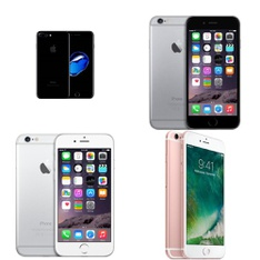 CLEARANCE! 13 Pcs – Apple iPhones – Refurbished (GRADE D – Unlocked) – Models: 3A551LL/A, MN4D2LL/A, MB503LL/A, MD638LL/A