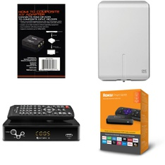 12 Pallets – 679 Pcs – Accessories, Heaters, Speakers, Media Streaming Players (IPTV) – Customer Returns – Blackweb, Mainstay's, Honeywell, EMATIC