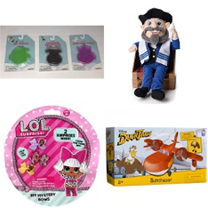 150 Pcs - Toys - New - Retail Ready - NECA, Learning Resources, Bullseyes Playground, L.O.L. Surprise!