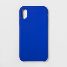 31 Pcs - heyday Apple iPhone XR Silicone Case, Blue - Like New, Open Box Like New, New - Retail Ready