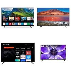 5 Pcs – LED/LCD TVs – Refurbished (GRADE C) – Samsung, VIZIO, JVC, LG