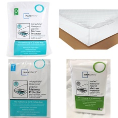 Pallet – 57 Pcs – Covers, Mattress Pads & Toppers, Comforters & Duvets – Customer Returns – Mainstay's, Mainstays, Aller-Ease, Beautyrest