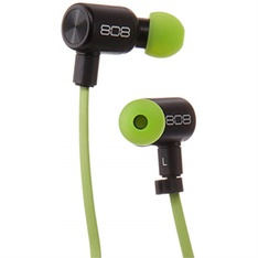 10 Pcs - Audiovox Electronics HPA205GRT 808 Audio Ear Canz Wireless Earbuds, Green - (GRADE A)