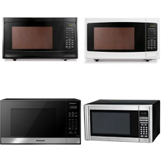 Pallet - 16 Pcs - Microwaves, Kettles & Ice Tea Makers - Customer Returns - Hamilton Beach, Panasonic, Toastmaster, Blackweb