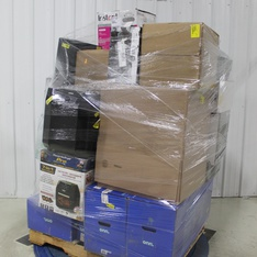 Pallet - 35 Pcs - Drones & Quadcopters Vehicles, Speakers, Slow Cookers, Roasters, Rice Cookers & Steamers - Tested NOT WORKING - Protocol, Onn, Instant Pot, Sony
