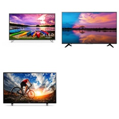 3 Pcs - LED/LCD TVs (46