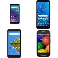 CLEARANCE! 7 Pcs – Cellular Phones – BRAND NEW – Not Activated – ZTE, Motorola, AT&T, BLU