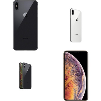 17 Pcs – Apple iPhone Xs Max – Refurbished (GRADE A – Unlocked) – Models: MT5D2LL/A, MT592LL/A, MT5E2LL/A, 3D897LL/A