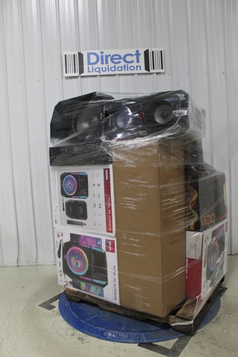 Pallet – 19 Pcs – Speakers – Tested NOT WORKING – Onn, Ion, Samsung, VIZIO