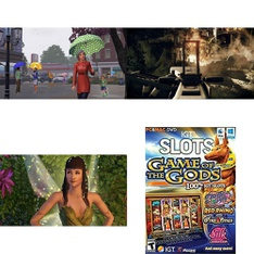 10 Pcs – Computer Software – Used, Like New, New, Open Box Like New – Electronic Arts, Big Fish Games, IGT Slots