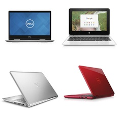 5 Pcs – Laptops – Refurbished (GRADE A, GRADE B) – DELL, HP